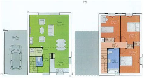maison 6 chambres plan maison 6 chambres stunning plan maison plain pied