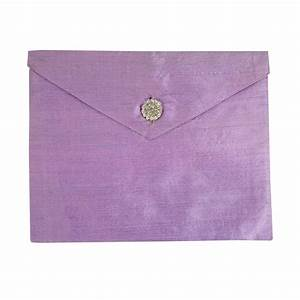 lavender dupioni silk invitation envelope the luxury With silk envelope wedding invitations