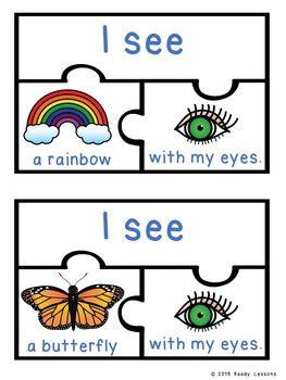senses activity sort puzzles    sense
