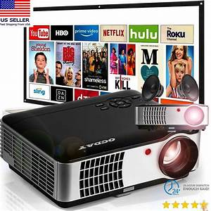 3d Full Hd 1080p Mini Projector Led Multimedia Home
