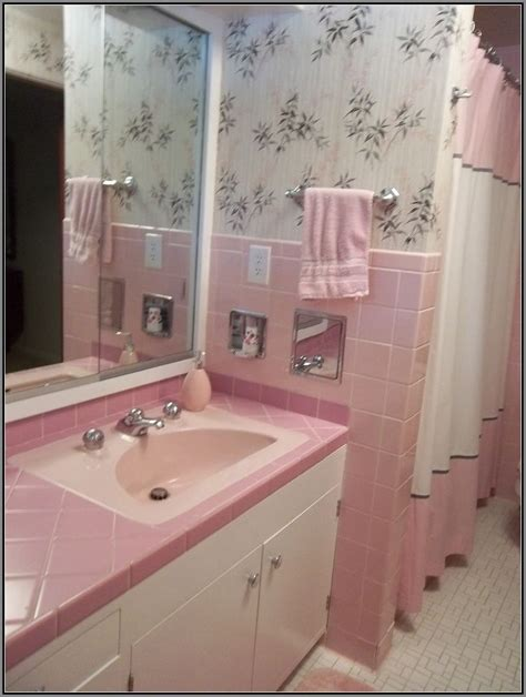 Retro Bathroom Ideas by 40 Vintage Pink Bathroom Tile Ideas And Pictures