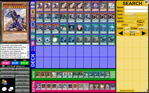 Yugioh Buster Blader Magician Deck by Tcg Buster Blader Magician Yu Gi Oh Tcg Ocg Decks