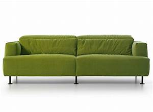 Light green sofa aire by cassina disassemblable and for Light green sectional sofa