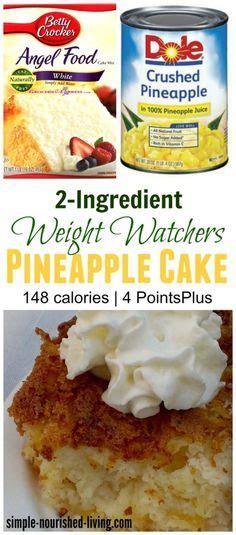 check  weight watchers  ingredient pineapple angel
