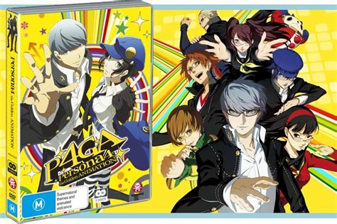 persona 4 the golden animation 1 review persona 4 the golden animation series anime inferno