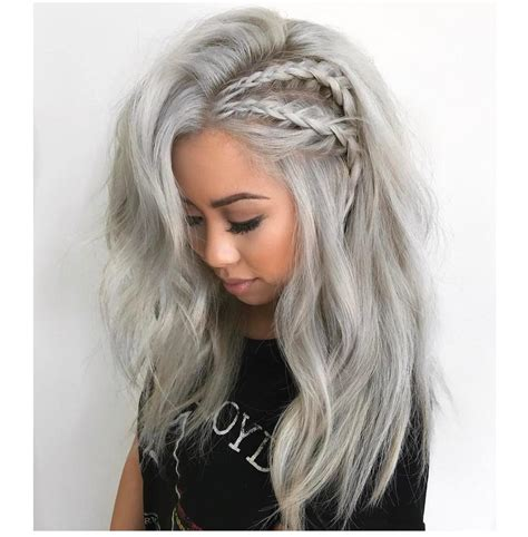 Cool Color Hairstyles by 20 Adorable Ash Hairstyles To Try Hair Color Ideas