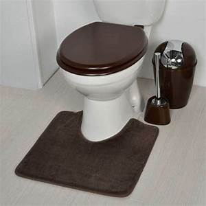 deco wc chocolat With tapis pour toilette