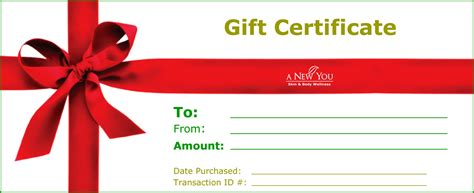 18 Gift Certificate Templates