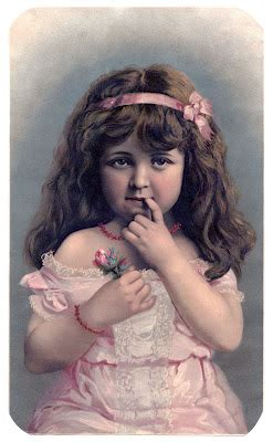 antique image  girl  exceptionally pretty face