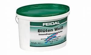 Test Wandfarbe Weiß : test innenfarben wand feidal bl ten wei elf sehr gut ~ Lizthompson.info Haus und Dekorationen