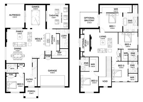 Home Design Level 42 : 25+ Best Ideas About Double Storey House Plans On