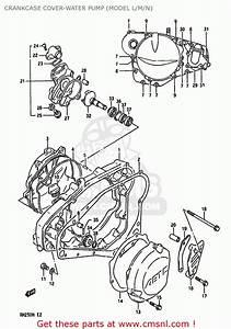 Suzuki Rm250 1990  L  United Kingdom France Australia  E02