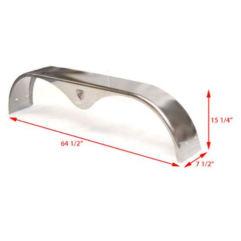 Triton Bass Boat Trailer Fenders boat trailer fenders triton stainless steel set of 2