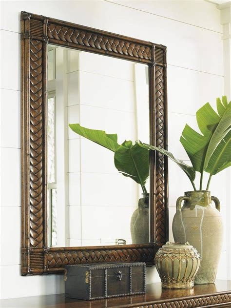 15 best ideas of tropical wall mirrors