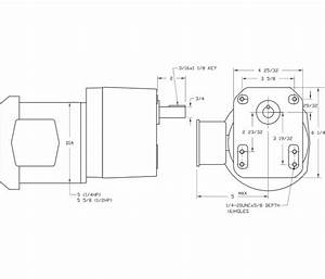 Ac Parallel Shaft Three Phase Gear Motor 24 0 Rpm  1  4 Hp