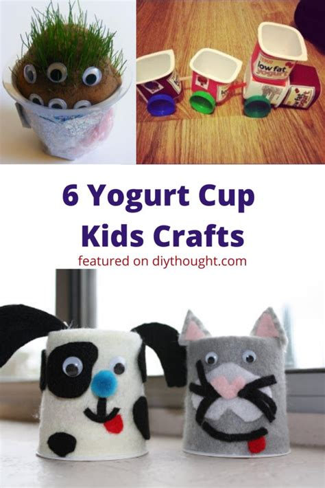 lockdown kids crafts  recycled materials diy thought