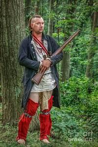 Eastern Woodland Warrior American Indian Reenactment