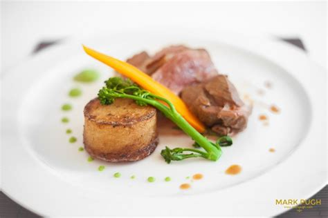 roast chump  lamb fondant potato pea puree hospitality catering news