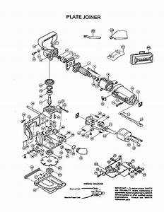 Makita Model 3901 Plate Joiner Genuine Parts