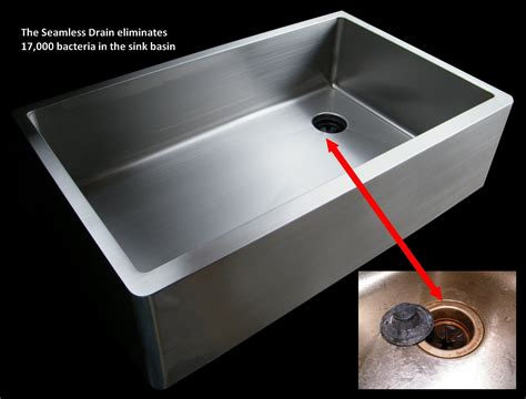 Edelstahlwanne Mit Ablauf by Create Sinks Offers A Seamless Offset Drain Keep