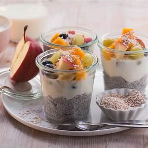Joghurt Mit Chia : chia samen joghurt mit fr chten und amaranthpuff besserhaushalten ~ Watch28wear.com Haus und Dekorationen