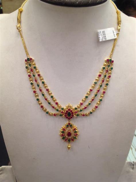 light weight ball necklace designs