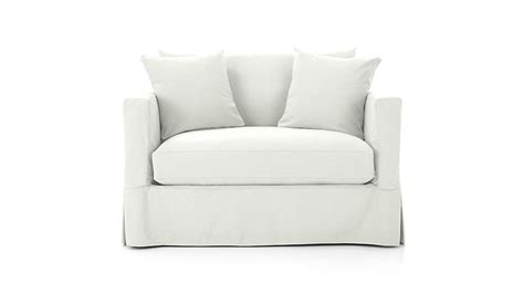 Sleeper Sofa With Air Mattress by Willow Single Sofa Bed Crate And Barrel
