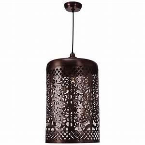 Kenroy home nancy light copper pendant clr the