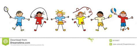 sport kinder vektor abbildung bild