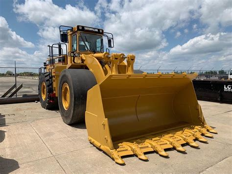 caterpillar  ii wheel loaders construction