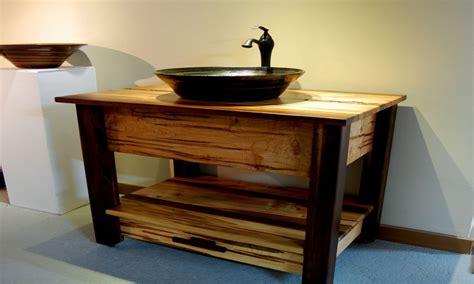 rustic vessel sink vanity cheap black mirror rustic bathroom vanity with vessel