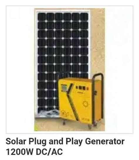 solar and play solar and play generator 1200w tnk electronic