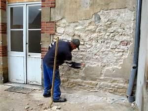 Peinture Pour Crépi Extérieur : enlever du crepi exterieur resine de protection pour peinture ~ Melissatoandfro.com Idées de Décoration