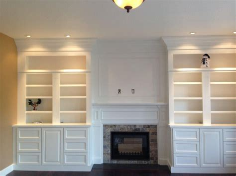 Fireplace With Bookcase Surround by Gas Fireplace Surrounds With Bookcases Fireplace