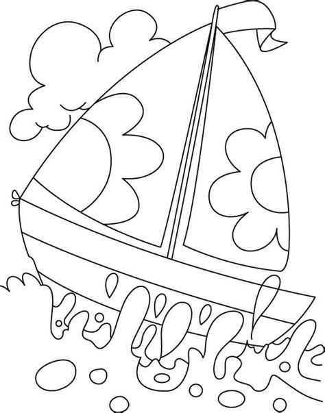 boat  deep water coloring page edarts  crafts