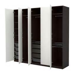 bathroom cabinets ideas storage pax wardrobe black brown vinterbro white 250x60x236 cm ikea