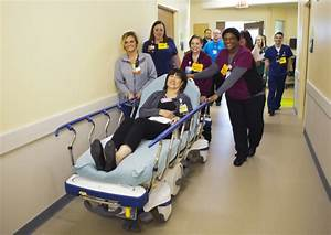 """""""day in the life"""" prepares for patient move 