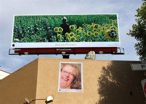 Pranksters Put Up Fake 'shot On Iphone 6' Ads Next To Real Apple Billboards
