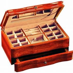 Boite A Bijoux En Bois : boite bijoux en bois d 39 acajou de qualit bois et ~ Teatrodelosmanantiales.com Idées de Décoration