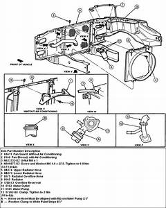 28 1998 Ford Expedition Heater Hose Diagram