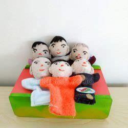 Boneka Jari Keluarga distributor alat peraga edukatif boneka jari keluarga