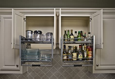 Pull Out Cupboards by Shelf Genie Pull Shelves Finally A Solution For