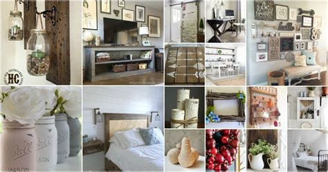 Diy Home Decor Projects And Ideas: 55 Gorgeous DIY Farmhouse Furniture And Decor Ideas For A