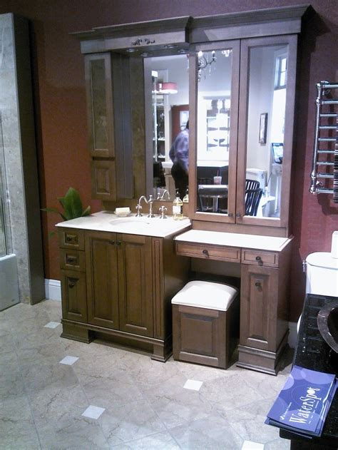 bathroom cabinets with makeup vanity small make up vanity cabinet bathroom remoldel pinterest