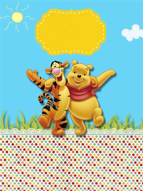 Winnie The Pooh by Winnie The Pooh Free Printable Bar Labels