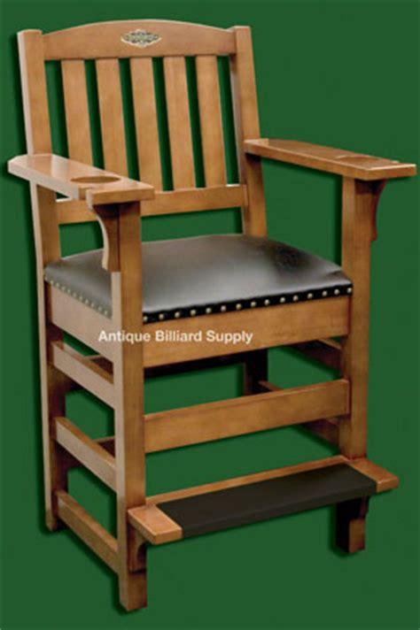 antique billiard supply brunswick spectator chair light