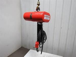 Cm Lodestar L Electric Chain Hoist 16fpm 20 U0026 39 Lift 208