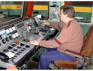Train Driver (engine Driver) In Encyklopedia Gwo