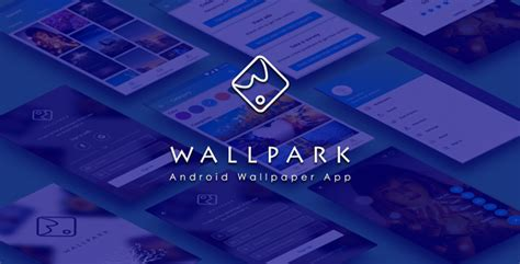 wallpark  android wallpaper app  admin