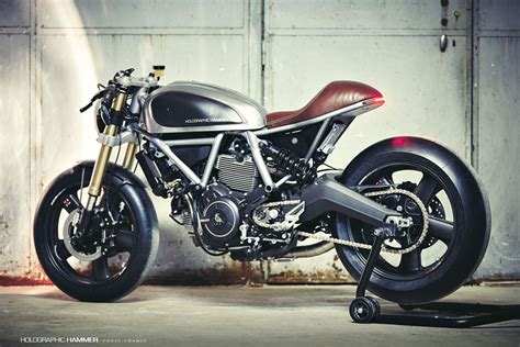 Holographic Hammer Ducati Scrambler Cafe Racer